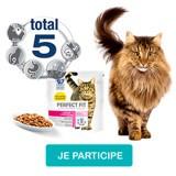 Testez les croquettes Perfect Fit pour votre chat stérilisé !