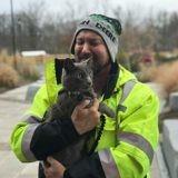 Son chat s'échappe, ce qu'on lui annonce plusieurs mois plus tard au téléphone le fait trembler de la tête aux pieds
