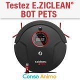 Testez gratuitement l'aspirateur e.ziclean® BOT PETS !