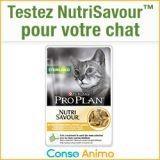 Testez gratuitement l'alimentation humide pour chat NutriSavour™ Sterilised !