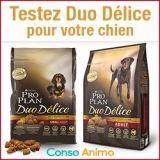 Testez gratuitement les croquettes pour chien PURINA® PRO PLAN® Duo Délice !