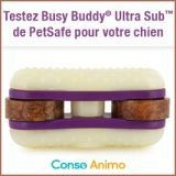 Testez gratuitement le jouet pour chien Busy Buddy® Ultra Sub™ de PetSafe !