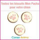 Testez gratuitement les biscuits pour chien Mon Pacha !