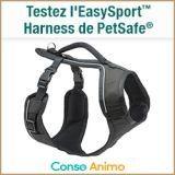 Testez gratuitement le Harnais EasySport de Petsafe !