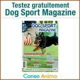 Recevez et testez gratuitement Dog Sport Magazine !