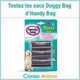 Testez gratuitement les sacs Doggy Bag d'Handy Bag !