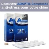 Testez gratuitement les comprimés Adaptil pour lutter contre le stress de votre chien !