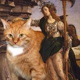 Zarathustra le gros chat roux remet la peinture au goût du jour