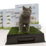 Kitty Kat : la caisse pour chat version nature