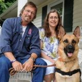 Atteint de la maladie d'Alzheimer, il revit grâce à son chien