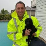En voyant son amie se noyer dans la piscine, ce chien a donné l'alerte qui a permis de la sauver !