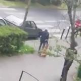 Filmé en train de traîner un chien derrière lui en pleine rue à Argenteuil, cet homme l'a tué (Vidéo)