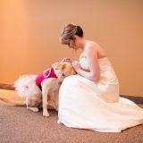 La photo de cette jeune mariée en compagnie de son chien d'assistance médicale a ému le Web