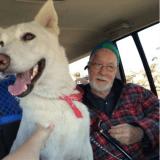Il retrouve son chien après qu'une tornade lui a pris sa femme et sa maison