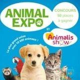 Concours : 50 places à gagner pour le salon Animal Expo - Animalis Show