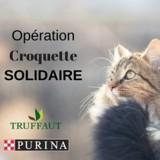 Rendez-vous chez Truffaut ce week-end pour l'opération « Croquette Solidaire » !
