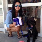 Comment une jeune femme et une chienne errante se sont sauvées l'une l'autre