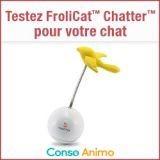 Testez gratuitement le jouet pour chat FroliCat Chatter !