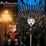 Game of Thrones : vous pouvez désormais obtenir un portrait de votre chien assis sur le trône de fer