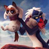 Grumpy Cat s'invite dans les scènes cultes de Disney !