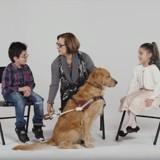 Ces jumeaux rencontrent un chien guide d'aveugle et c'est trop mignon (Vidéo)