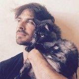 Devenu père, Ian Somerhalder explique comment ses chats l'ont préparé à ce rôle
