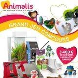 Gagnez des bons d'achats Animalis pour vos animaux !