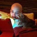 Atteinte d'un cancer, elle sauve la vie d'un chaton qui, à son tour, va sauver sa famille