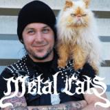 Metal Cats : le côté tendre des metalleux et de leurs chats (Photos)
