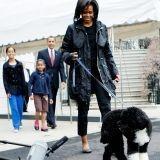 Michelle Obama, incognito avec son chien dans une animalerie