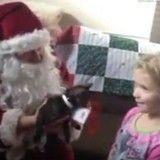 Quand le Père Noël en personne vient apporter chiots et chatons à leurs adoptants… (Vidéo du jour)