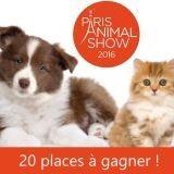 Gagnez 20 places pour le salon Paris Animal Show !