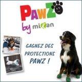 Avez-vous gagné des protections PAWZ, pour les pattes de votre chien ?