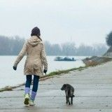 Sortir avec son chien permet de se sentir plus en sécurité