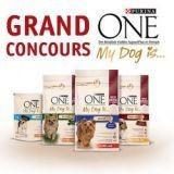Concours : Avez-vous gagné des croquettes Purina ONE My Dog is ?