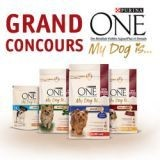 Gagnez des bons d'achat Purina ONE My Dog is !