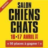Avez-vous gagné votre place pour le salon Chiens Chats ?