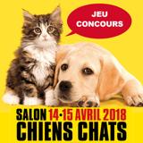 Concours : gagnez votre place pour l'édition 2018 du salon Chiens Chats !