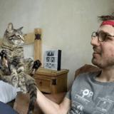 Ce candidat du jeu Ninja Warrior concourt avec son chat !