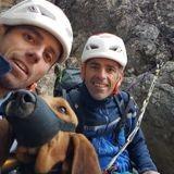 Les gendarmes ont sauvé un chien coincé depuis 2 jours dans les montagnes pyrénéennes