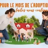 "La SPA lance le ""Mois de l'adoption"" au sein de ses refuges afin de sensibiliser à l'adoption responsable"