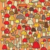 Souris cachée au milieu des champignons : très peu de gens parviennent à la trouver !