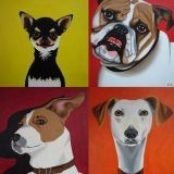 Les portraits de chien version pop art !