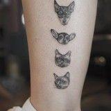 11 tatouages qui prouvent que ceux inspirés de nos animaux sont les plus beaux
