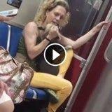 Filmée en train de maltraiter son chien dans le métro