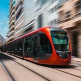 La conductrice du tram voit une ombre foncer sur les voies : elle freine d'un coup et tout le monde crie