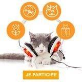 Testez la musique en ligne CatSonics pour chats  !