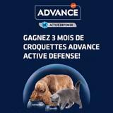Concours : avez-vous gagné 3 mois de croquettes ADVANCE ACTIVE DEFENSE ?