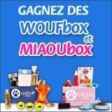 Avez-vous gagné une Woufbox ou une Miaoubox ?