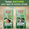 Testez gratuitement l'alimentation Nature de Beaphar pour lapin ou cochon d'Inde